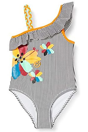 Tuc Tuc Striped Swimsuit for Girl Wild Side