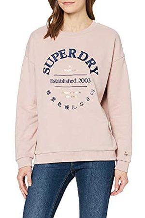 Superdry Women's Applique Serif Crew Sweatshirt