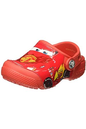 Crocs Boys Funlab Cars Clog K, (Flame)