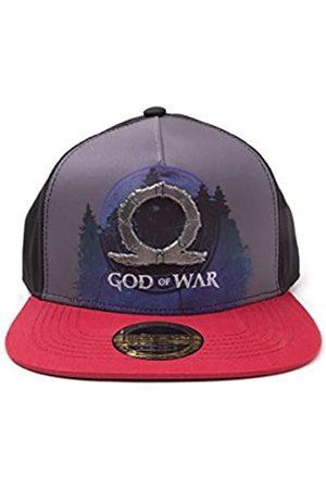 Bioworld GOD of WAR Logo Metal Badge Sublimation Print Snapback Baseball Cap