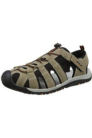 Gola Men's AMP648 Hiking Sandals, (Taupe/ /Burnt FB)