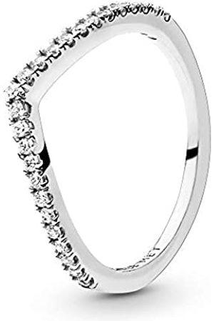 PANDORA Women's Glittering Wish Ring
