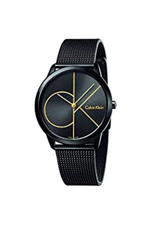 Calvin Klein Men's Analogue Quartz Watch with Stainless Steel Strap K3M214X1