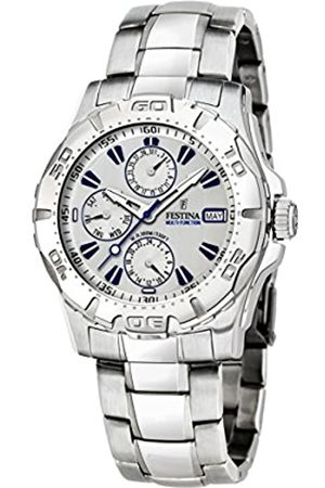 Festina Men's Analogue Quartz Watch with Stainless Steel Strap F16242/7