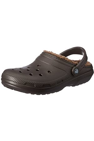 Crocs Classic Lined Clog, Unisex Adults Clogs, (Espresso/Walnut)