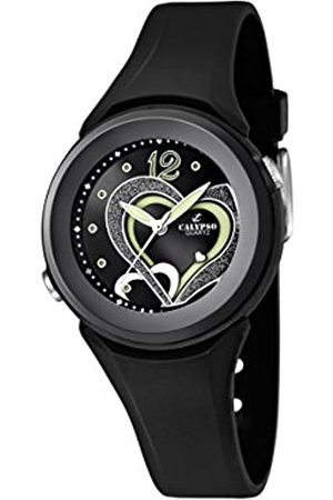 Calypso Women's Quartz Watch with Dial Analogue Display and Plastic Strap K5576/6