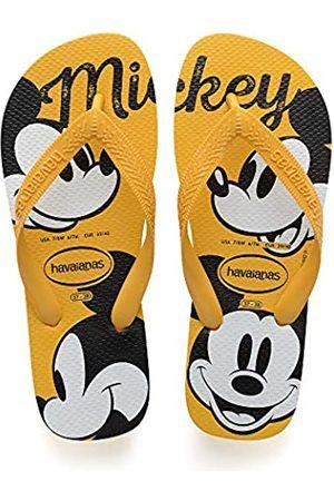 Havaianas Top Disney, Unisex-Adult Flip Flops, (Banana )
