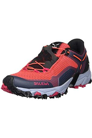 Salewa Women's Ws Ultra Train 2 Trail Running Shoes, (Virtual /Fluo Coral 6157)