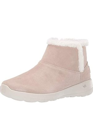 Skechers Women's On-The-Go-Bundle Up Ankle Boots, (Taupe TPE)