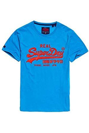 Superdry Men's Vintage Logo Neon Lite Tee Kniited Tank Top