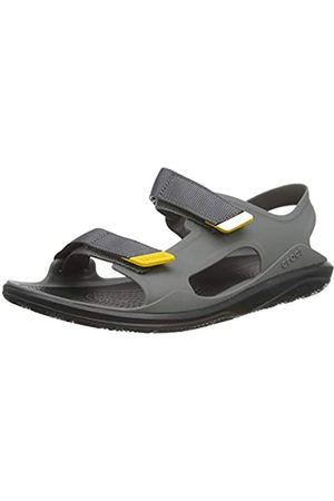 Crocs Men's Swiftwater Molded Expedition Sandal Open Toe, (Slate / 0dy)