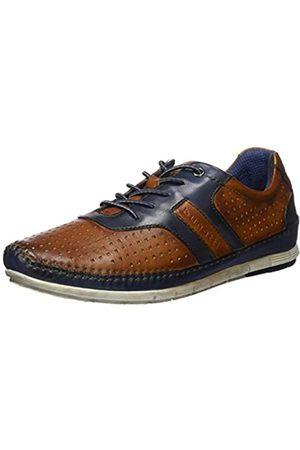Bugatti Men's 321700034040 Low-Top Sneakers, (Cognac/Dark 6341)