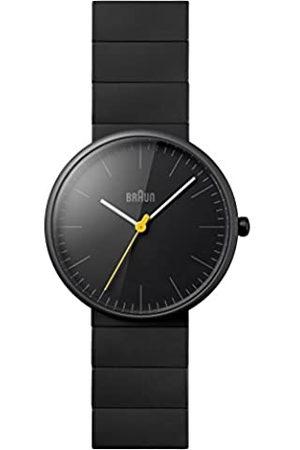 von Braun Men's Quartz Watch with Dial Analogue Display and Ceramic Strap BN0171GYGYG