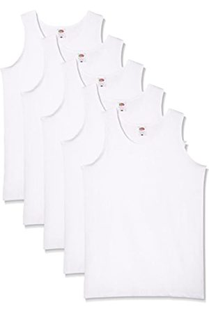 Fruit Of The Loom Men's Athletic Lightweight Vest Pack of 5