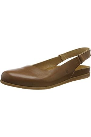 El Naturalista Women's N5252 Vaquetilla Closed Toe Sandals, (Caramel Caramel)