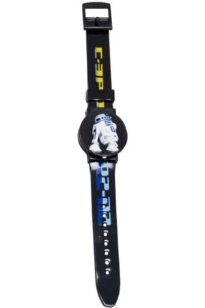 STAR WARS Joy Toy 26299 Flip Top Watch with 2 Interchangeable Designs in Blister Pack