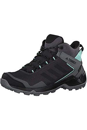 adidas Women's Terrex Eastrail Mid GTX W Fitness Shoes, (Gricua/Negbás/Mencla 000)