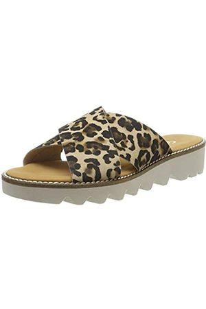 Gabor Shoes Women's Comfort Sport 22.701.90 Sandals, (Natur 90)