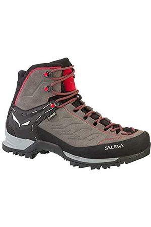 Salewa Herren Mtn Trainer Mid Gore-tex Bergschuh, Men's High Rise Hiking Shoes, Multi-Colored (Charcoal/Papavero 4720)
