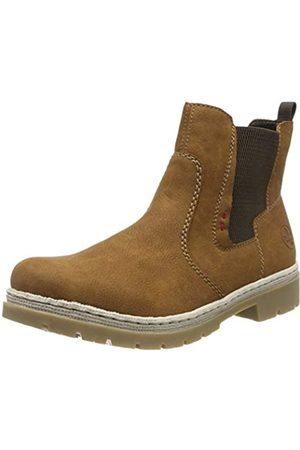 Rieker Women's Herbst/Winter Chelsea Boots, (Cognac/ 22)