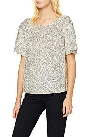 Trussardi Jeans Women's T-Shirt Paillettes Blouse