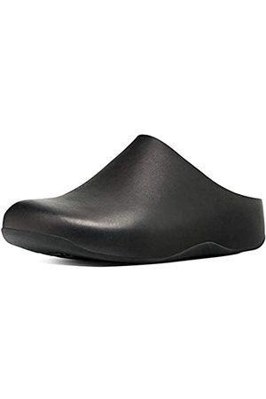 Fitflop Women's SHUV-Leather Clogs, ( 001)