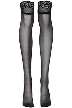 Womens Plus Size Diamond Net Fishnet Pantyhose Suspender Style Open Crotch