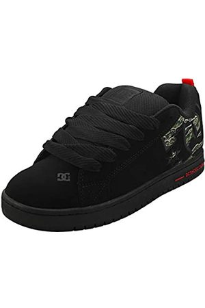 DC Men's Court Graffik Se Skateboarding Shoes, (Camo CMO)
