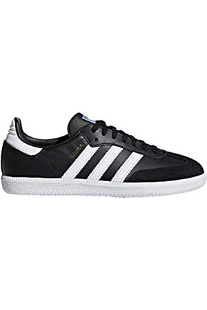 adidas Unisex Adults' Samba OG J Fitness Shoes, (Negbas/Ftwbla 000)