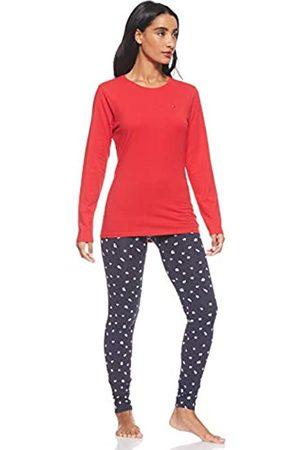 Tommy Hilfiger Women's Legging Gold Set Ls Print Pyjama Bottoms