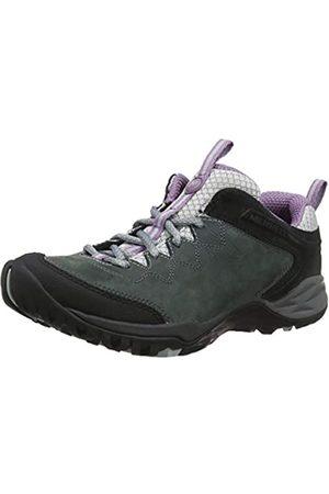 Merrell Women's Siren Traveller Q2 Leather Low Rise Hiking Shoes, (Castle/Grape)