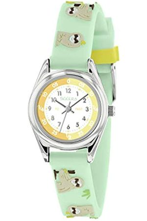 Tikkers Unisex Child Analogue Classic Quartz Watch with Silicone Strap TK0181