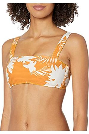 Seafolly Women's Wild Tropics Bandeau Bra Bikini Top