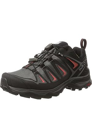 Salomon Women's Ultra 3 GTX Low Rise Hiking Shoes, Multicolor (Magnet/ /Mineral)