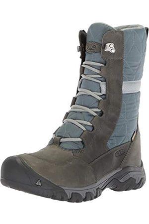 Keen Women's Turbulence/Stormy High Rise Hiking Shoes, (Hoodoo Iii Talc 1020140)