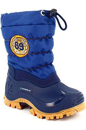 Spirale Unisex Kids' Eric Snow Boots, Turquoise (Blu/Crepe 01319800)