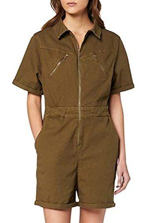 Urban classics Women's Einteiler Ladies Short Boiler Suit Dress Pants