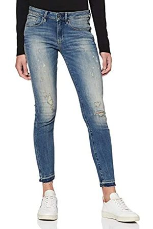 G-Star Women's 3301 Mid Waist Skinny Ankle Jeans