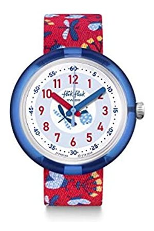 Flik Flak Unisex_Adult Analogue Swiss Quartz Watch with Textile Strap FPNP059