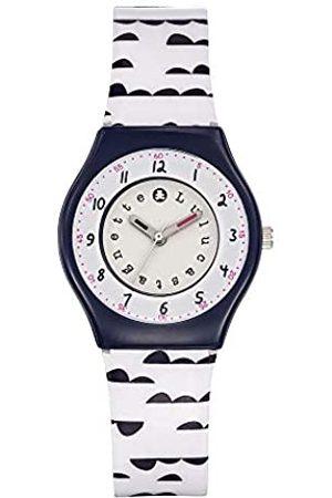 Lulu Castagnette Girls Analogue Quartz Watch with Plastic Strap 38791