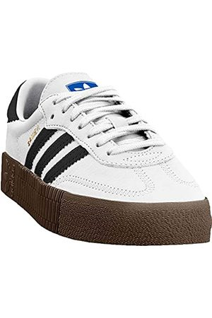 adidas Women's Sambarose W Fitness Shoes, (Ftwbla/Negbás/Gum5 000)