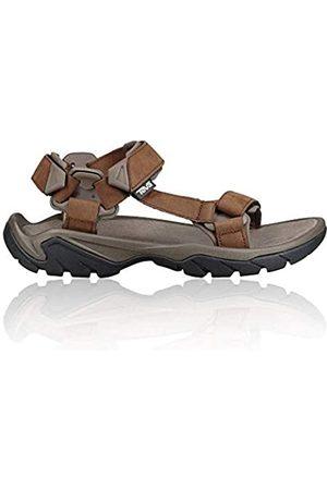 Teva Men's Terra FI 5 Universal Leather Open Toe Sandals, (Carafe Cara)