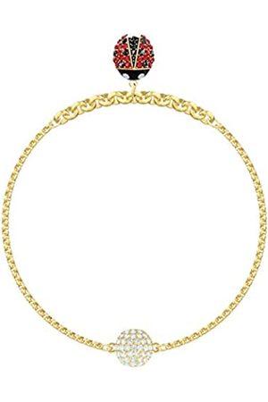 Swarovski Women's Multi-colored Gold-tone plated Remix Collection Ladybug Strand 5466832