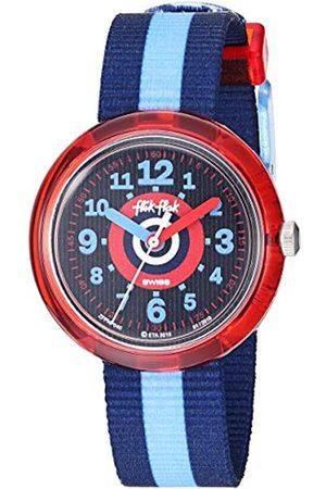 Flik Flak Boys Analogue Quartz Watch with Textile Strap FPNP040