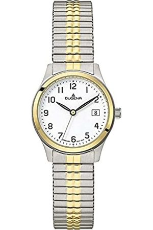 DUGENA Women's Analogue Quartz Watch with Stainless Steel Strap 4460757