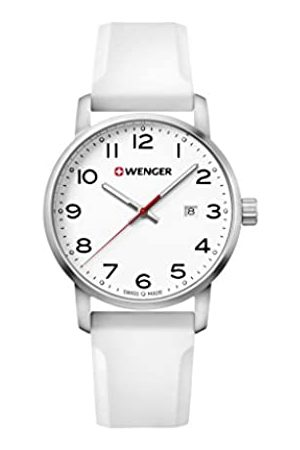 Wenger Unisex Analogue Quartz Watch with Silicone Strap Sport Avenue 01.1641.106