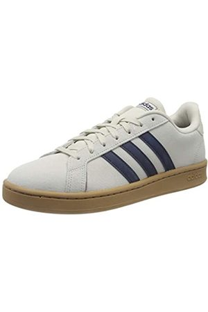 adidas Men's Grand Court Tennis Shoe, Raw /Dark /FTWR