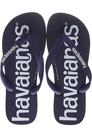 Havaianas Unisex Adult's Top Logomania Flip Flops, (Navy 0555)