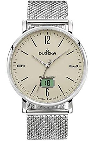 Dugena Mens Analogue-Digital Quartz Watch with Stainless Steel Strap 4460847