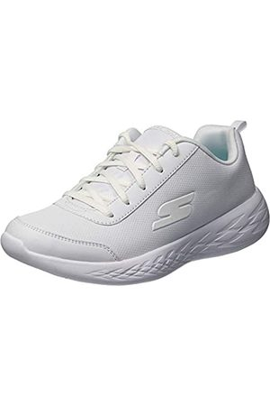 Skechers Girls' GO Run 600-RECESS Chic Trainers, ( Wht)